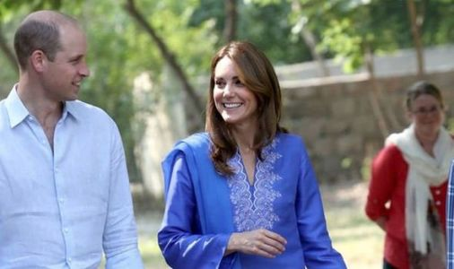 Kate Middleton caught in embarrassing royal faux pas on first day of Pakistan tour - VIDEO