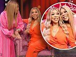 Wendy Williams comes face-face-with her waxwork as she gushes about 'wonderful' figure