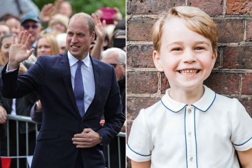 Prince William reveals the one thing George isn't allowed to do when he grows up