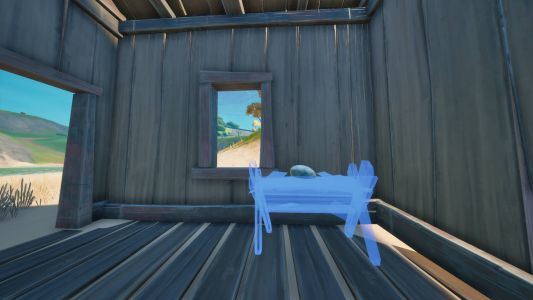Construct a wooden hatchery in Fortnite