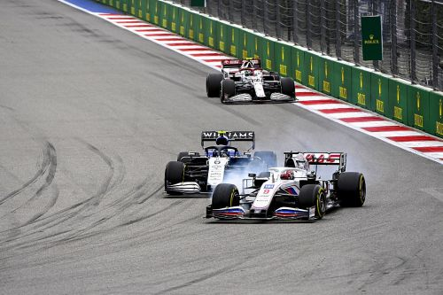 FIA not alarmed after Mazepin's Russian F1 GP black/white flag