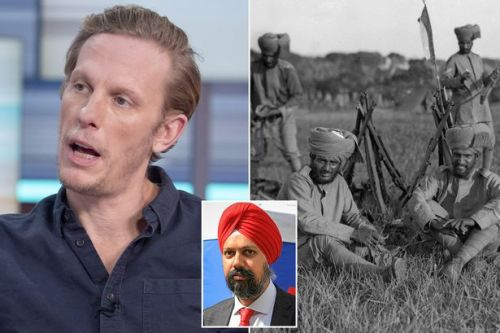 'Laurence Fox must apologise for bigoted 1917 views - 83,000 Sikhs died for Britain'