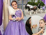 Mother spoils daughter, 11, with £1K lavish prom including £400 dress and a horse and carriage