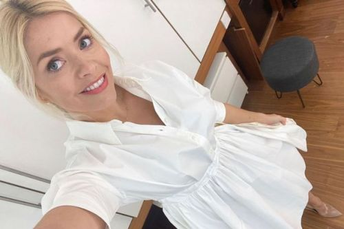 Holly Willoughby wows in white shirt dress, get the look for less