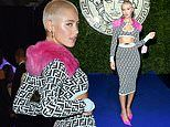 Iris Law attends star-studded Versace event during Milan Fashion Week