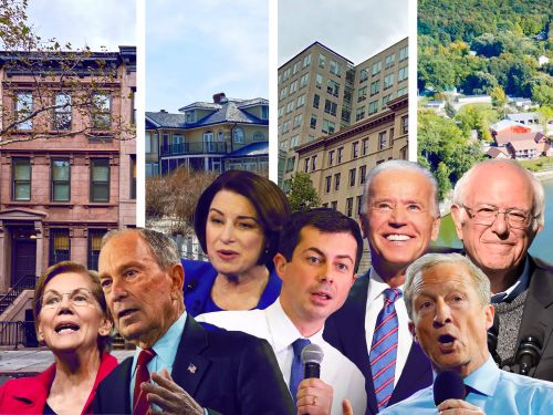 7 Democratic presidential candidates are facing off in the South Carolina debate tonight. Here's a look at their real estate portfolios, from Mike Bloomberg's 11 luxury properties to Pete Buttigieg's $125,000 Indiana house