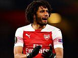 AC Milan 'turn down out-of-favour Arsenal midfielder Mohamed Elneny'