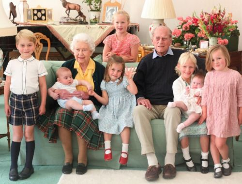 The Royal Family shares special family photos of Prince Philip and his great grandchildren