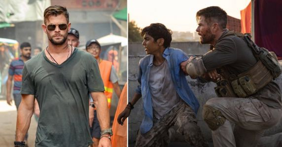 Avengers' Chris Hemsworth gets all kinds of bloody in wild trailer for Netflix movie Extraction