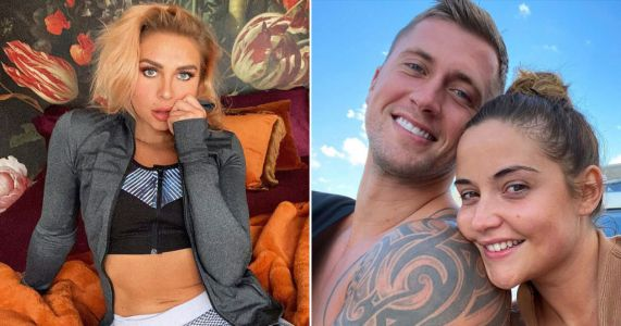 Jacqueline Jossa denies claims she moved out of marital home 'after finding message Dan Osborne had sent Gabby Allen'
