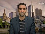 Waleed Aly clashes with female TV host in furious debate about the AFL Grand Final