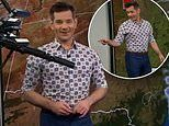 ABC weather presenter has a close call with a robotic camera going rogue