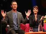 Rove McManus and his wife Tasma step out at the Channel Seven Telethon in Perth