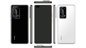 Huawei P40 Pro Render Shows Ceramic Back and 5 Cameras