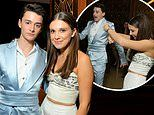 Stranger Things' Millie Bobby Brown throws some shapes with Noah Schnapp at Netflix after-party