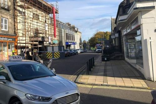 Suspicious package found at Scots bank found to pose no risk to the public