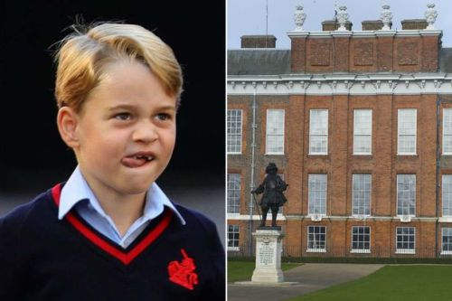 Prince George has pals over to play at Kensington Palace - but it's a lot of effort