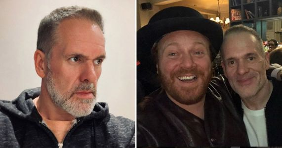 Chris Moyles reveals weight loss as he enjoys rare night out with pal Keith Lemon