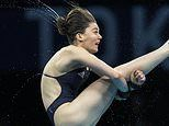 Andrea Spendolini-Sirieix, daughter of First Dates host Fred, finishes seventh in 10m platform final