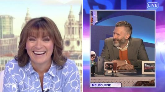 Lorraine Kelly gives hilarious tips to get around the lockdown sex ban on The Last Leg