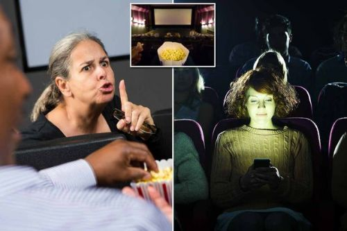 Talking, slurping on drinks, phones going off and other cinema bugbears revealed