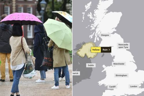 UK weather: Met issues yellow warning as thunderstorms set to ravage parts of Britain