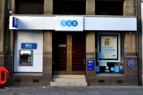 TSB to close 73 Scottish bank branches and cut 300 jobs next year