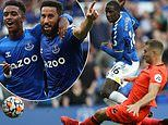Everton 2-0 Norwich: Andros Townsend and Abdoulaye Doucoure strike to pile the hurt on Daniel Farke