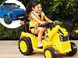 Aldi to relaunch kids' electric car after selling out in seconds in 2017
