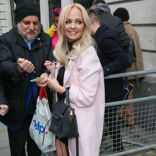 Emma Bunton has 'butterflies in her tummy' over Spice Girls' stage return