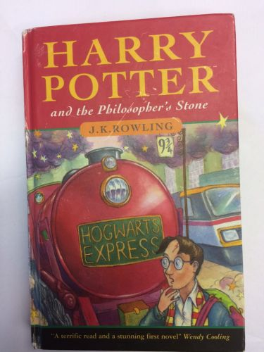 Harry Potter first edition book bought for 25p at jumble sale fetches £28,000 on Bargain Hunt