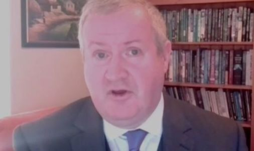 SNP's Ian Blackford shamed over Scotland's use of BRITISH Army to distribute Covid jabs