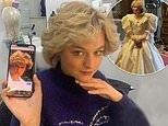 The Crown's Emma Corrin shares more candid backstage clips as Princess Diana