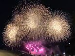 Fire chief DEFENDS allowing a eight-minute firework display to go ahead on Sydney Harbour