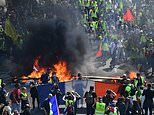 Yellow Vest fury explodes in Paris as anti-Macron activists clash with police