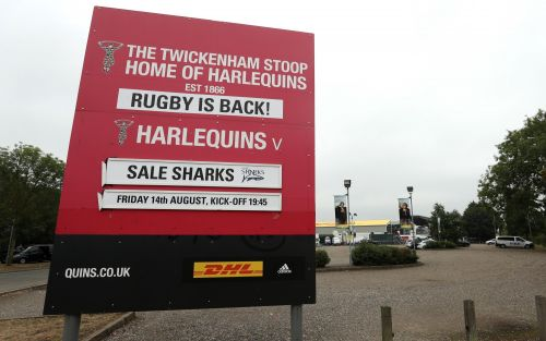 Harlequins vs Sale Sharks, Premiership Rugby: live score and latest updates