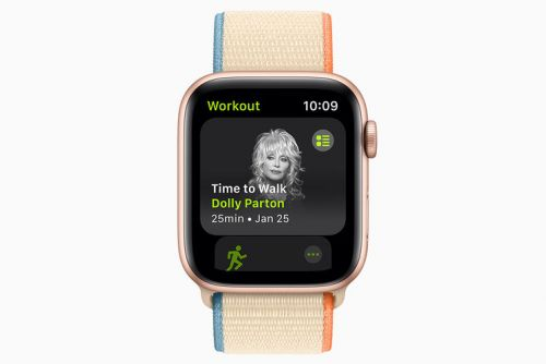 Apple's Time to Walk feature now on Fitness+ for Watch users