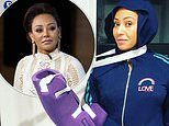 Mel B broke two ribs and 'severed' her hand after 'falling down the stairs at a friend's home'