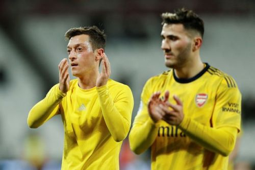 Mesut Ozil sends message to Arsenal fans after first win in 10 games