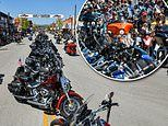 Thousands of bikers descend on South Dakota town for 10-day Sturgis Motorcycle Rally