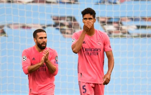 Raphael Varane apologises after shambolic display condemns Real Madrid to Champions League exit against Manchester City