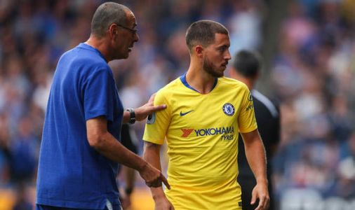 Chelsea news: Maurizio Sarri offers Eden Hazard transfer update