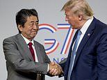 Trump and Abe agree on new trade deal that will see Japan slash tariffs on US agricultural imports