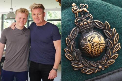 Gordon Ramsay's son abandons lavish lifestyle to join Marines on £18k a year