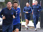 Chelsea news: Frank Lampard stuns passers-by as he takes staff out for morning RUN in Manchester