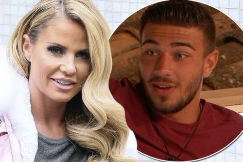 Katie Price 'lusting after Love Island hunks Tommy Fury and Anton Danyluk'