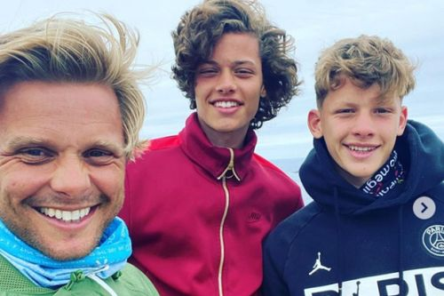 Jeff Brazier shares snaps from road trip adventure with sons Bobby and Freddie
