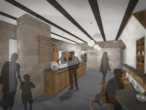 First look: Edinburgh's oldest surviving shop to be turned into ice cream parlour and cafe on Royal Mile
