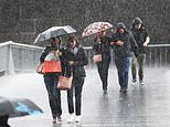 East coast of Australia drenched as week-long heavy rainfall approaches