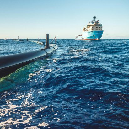 Plastic collected by The Ocean Cleanup will be burned to generate electricity
